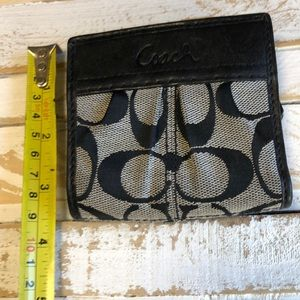 Coach Bags - Coach Signature Leather Bifold Wallet
